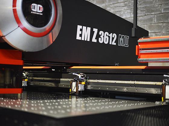 Amada EM Z 3612 M II CN iškirtimo-štampavimo įranga