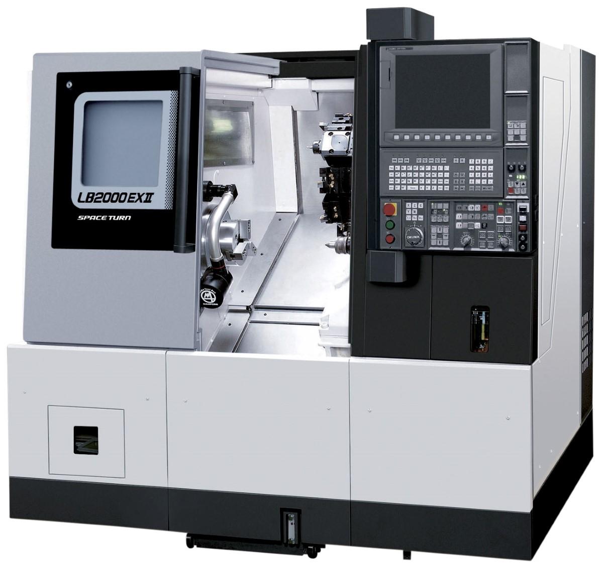 Okuma LB 2000 EX MW CNC tekinimo įranga