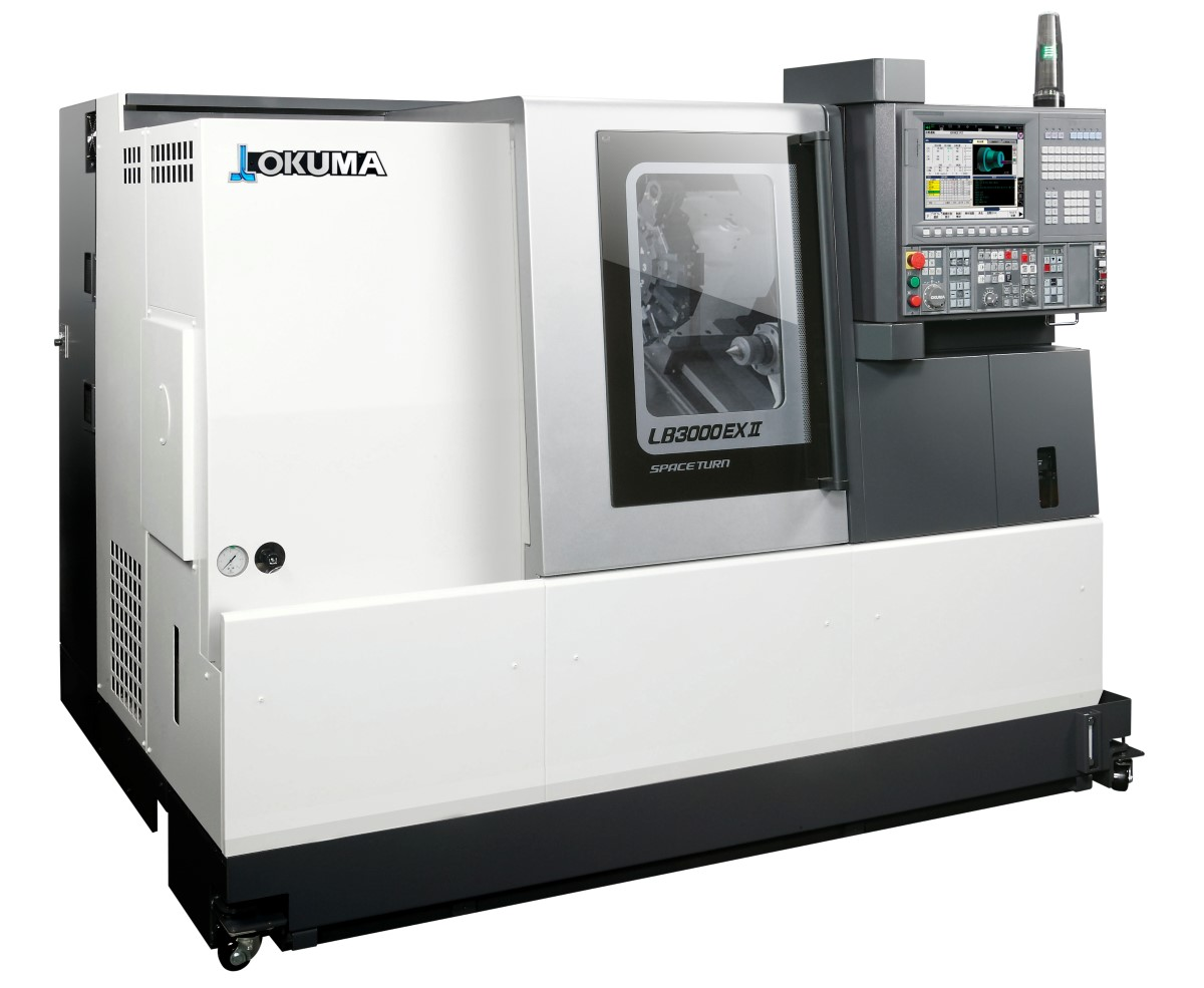 Okuma LB 3000 EX II CNC turning equipment