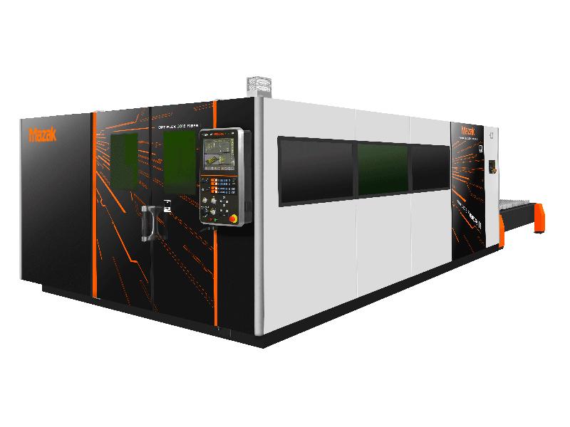 Mazak Optiplex 3016 Fiber II, 6kw 2D lazerio pjovimo įranga
